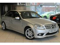 2010 10 MERCEDES-BENZ C CLASS 1.8 C180 CGI BLUEEFFICIENCY SPORT 4D 156 BHP