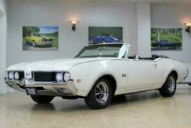 1969 Oldsmobile 442 V8 Convertible 3 Speed Auto - Restored Numbers Matching