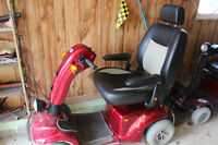 2 Motorized Scooters for sale