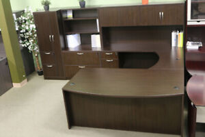****EXECUTIVE- U Shape DESK *** 3 Modern colors***NEW***