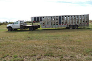 Livestock Trailer and Truck