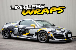 **PROFESSIONAL VEHICLE WRAPS STARTING AT $1700**