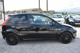 Ford Fiesta 2.0 ST 3 DOOR HATCHBACK BLACK 2006 MODEL +BEAUTIFUL+