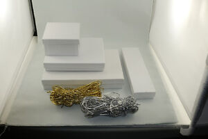 Jewelry boxes in various sizes