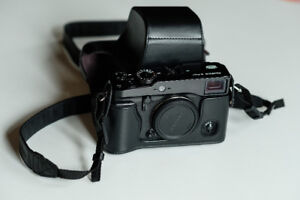 Fujifilm XPRO-1 with a leather case