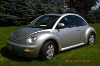 2000 Volkswagen New Beetle GLS Coupe (2 door)