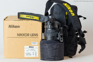 Nikon 200 mm F2G ED VR2 LENS - MINT / LIKE NEW / BOX
