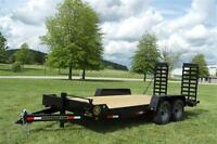 2014 Gator Equipment Trailer 18+2 series 7 Ton IN STOCK !!