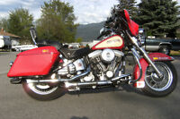 Heritage Softail - first year, collector plated