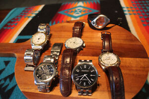 Handsome Watch collection, Mens watch blowout - price drop!