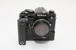 Nikon FA 35mm film camera.
