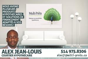 Courtier hypothécaire Haitien à Montréal, Laval(Rive-Nord)