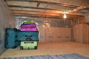 9ft2 - ** STORAGE SPACE AVAILABLE DURING SUMMER (or more)**