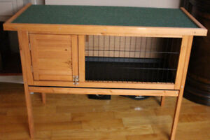 new wooden cage for small animals