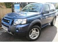 2006 (56) Land Rover Freelander 2.0 Td4 Freestyle Blue 3 Dr Auto Diesel Finance