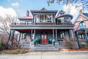STUNNING HERITAGE 6 BEDROOM HOME IN DOWNTOWN FREDERICTON