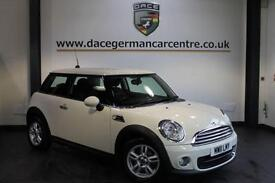 2011 11 MINI HATCH ONE 1.6 ONE D PEPPER PACK 3DR 90 BHP DIESEL