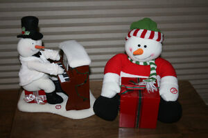 12.  Battery Operated Christmas Decorations