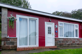 Devon for Christmas - self catering holiday chalet sea view