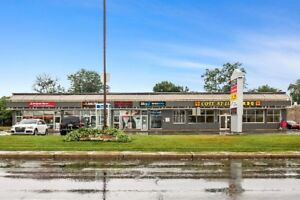 Retail space for rent on Sources Blvd. in DDO.