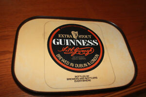 Vintage Guinness beer tray/wall hanger