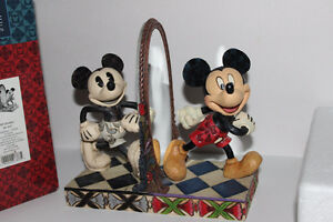 Rare Jim Shore Disney Traditions Mickey 80 Years Of Laughter