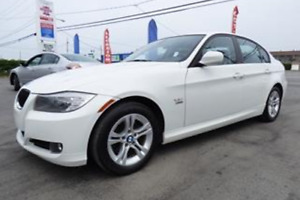 2011 BMW 3-Series Blanc Berline