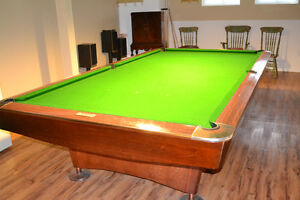 Table de billard (snooker) 5*10