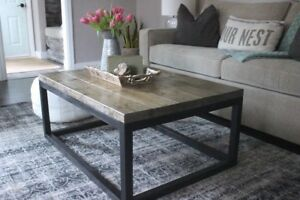 New Modern Coffee Table - Real Wood - Delivery Available