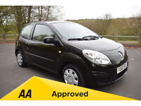 Renault Twingo 1.2 EXPRESSION - ** 6 MONTH WARRANTY ** (black) 2010