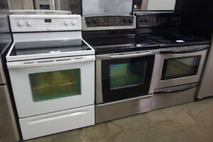 STOVES/RANGES/OVENS LIKE NEW WHITE/BLACK/STAINLESS ST + WARRANTY