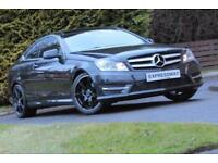 2012 Mercedes-Benz C Class 1.6 C180 BlueEFFICIENCY AMG Sport Sport Coupe