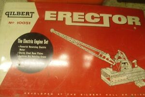 Gilbert Motorized 10051 Erector  Set