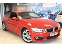 2015 64 BMW 4 SERIES 2.0 420D M SPORT 2D AUTO 181 BHP DIESEL