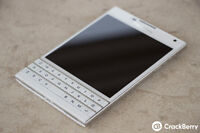 White Blackberry Passport Unlocked for trade **