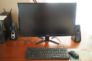 """2 Year Old 27"""" Acer G6 G276HL Gbd Full HD Widescreen LCD Monitor"""