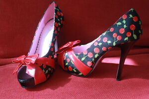 Pinup style shoes