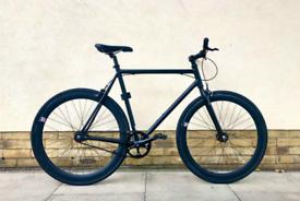 Single Speed Fixie Bike by 6KU - Like New (Lock Included)