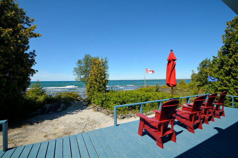 Lake Huron Waterfront Cottage | Houses for Sale | Owen ...