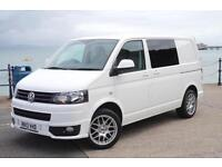 2013 VW TRANSPORTER T5 2.0TDi SWB T28 *ONLY 35K* DAY VAN SPORTLINE KIT T5.1 GP