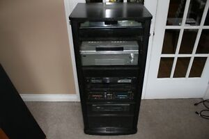 Stereo with stand,speakers & sub!