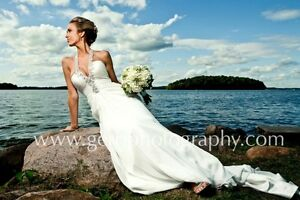 Stunning Pronovias Wedding Gown
