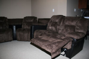 5-seat Curved Sectional Sofa