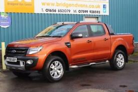 2015 FORD RANGER WILDTRAK 4X4 DOUBLECAB 3.2 TDCI 200 BHP DIESEL 6 SPEED MANUAL P