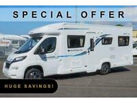 Compass Avantgarde 196 - 6 Berth Low-Profile Motorhome - 2.3L Manual Diesel