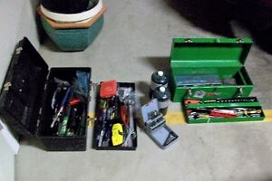 Two tool boxes of Miscellanious hand tools