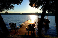 Very cute 2 bedrrom waterfront cottage. Rideau Lakes