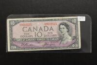 Canada 1954 $10 Bank Note