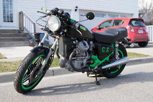 Cx500 for sale runs great!
