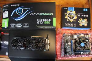 Entry-Level PC Parts Bundle -  CPU, MoBo, RAM, GPU, Keyboard